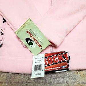 Rocky Jackets & Coats - Rocky Mossy Oak Pink Camo Fleece